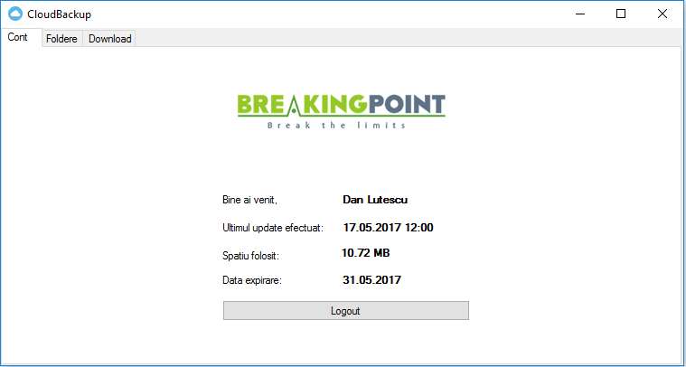 Breakingpoint Cloud Backup