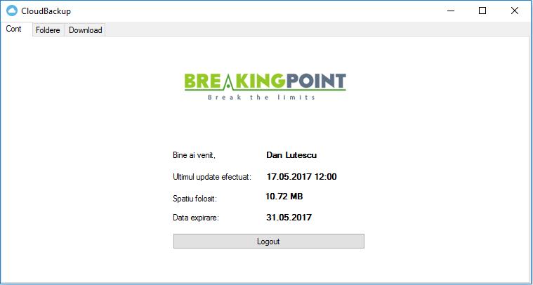 Breakingpoint Cloud Backup